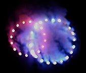 Lichterbild- Ringe